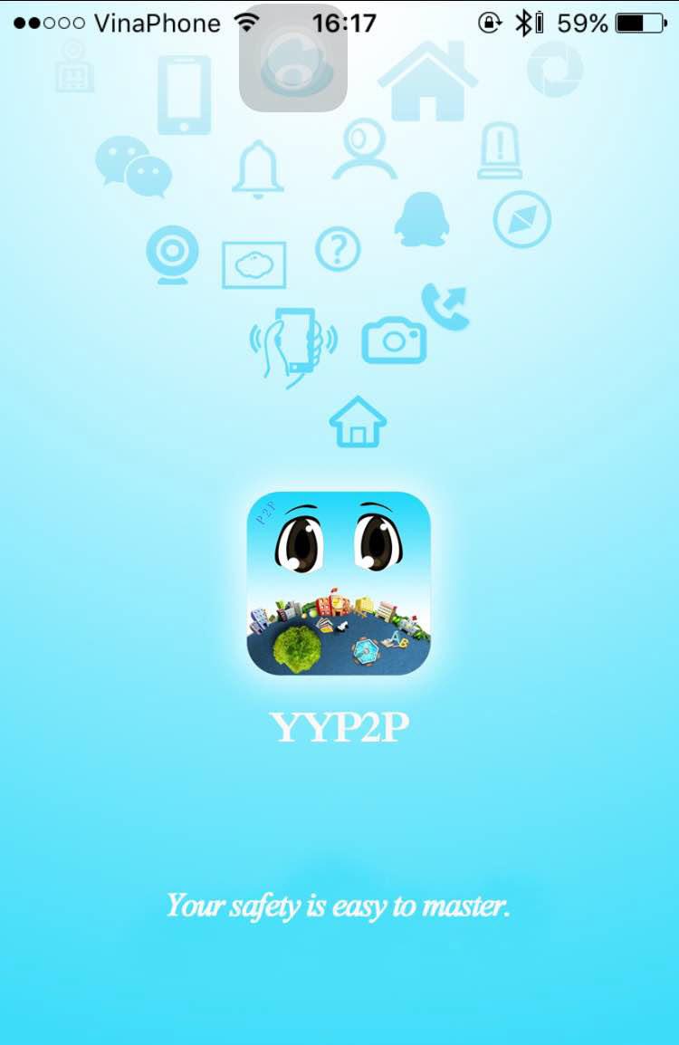 Ứng dụng YYP2P Camera HK Y1
