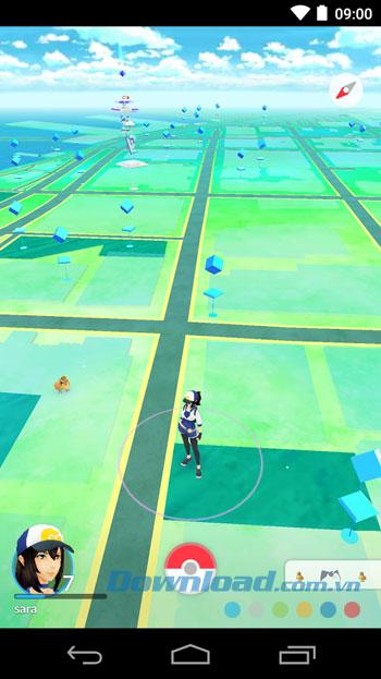 pokemon-go-android-giao-dien